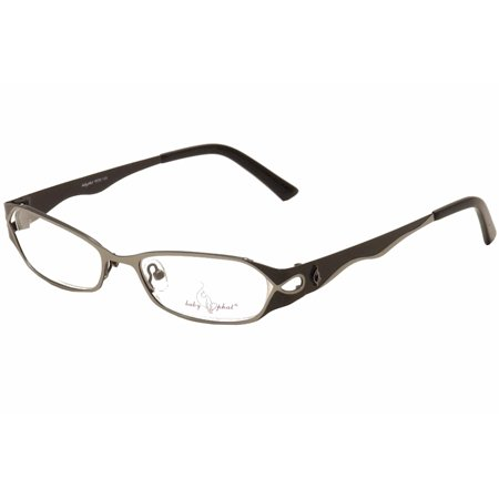 4c721f9b4e2 Baby Phat Women s Eyeglasses 139 Gunmetal Full Rim Optical Frame 51mm -  Walmart.com
