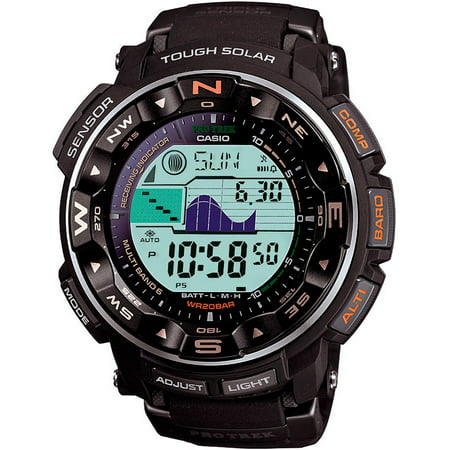 Casio Men's PRO TREK Atomic Solar Triple Sensor