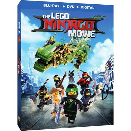 The Lego Ninjago Movie  Blu Ray   Dvd   Digital