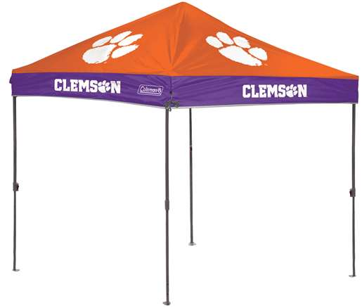 Clemson University Tigers 10 x 10 Straight Leg Canopy with Carry Bag Rawlings by Rawlings