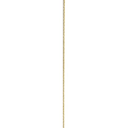 10k Yellow Gold .8mm D/C Cable Chain - image 2 of 5