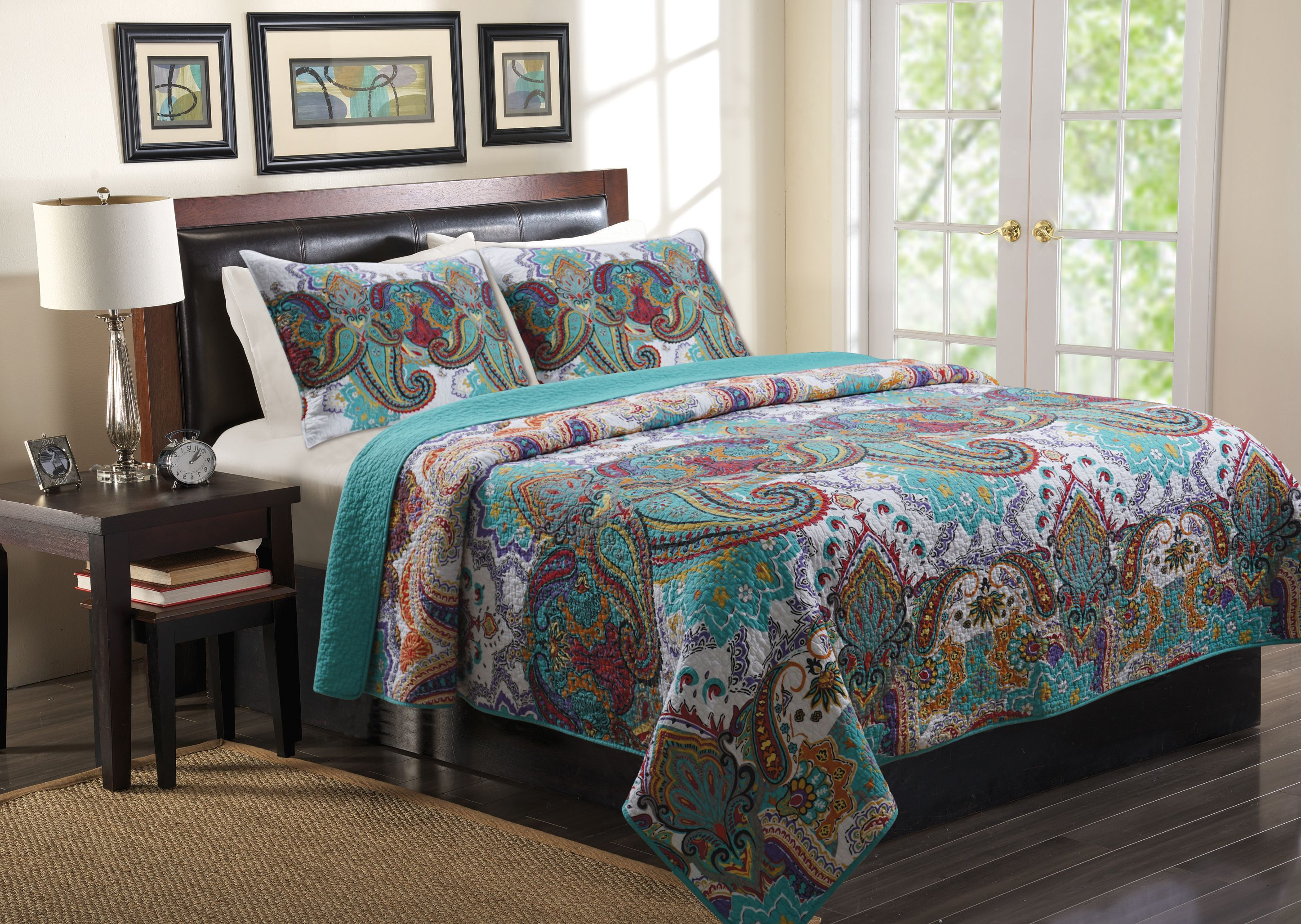 Global Trends Nova Quilt Bedding Set by Greenland Home Fashions