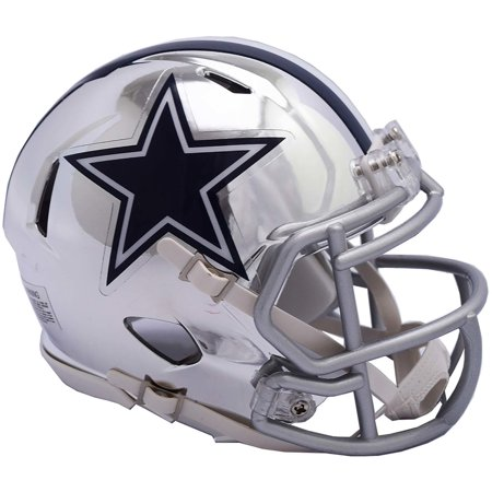 Riddell Dallas Cowboys Chrome Alternate Speed Mini Football Helmet](Cowboys Helment)