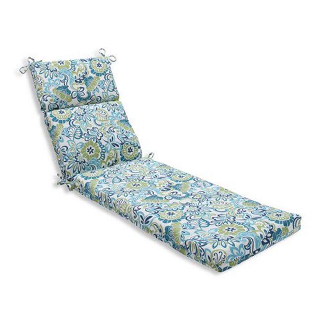 Indoor-Outdoor Zoe Mallard Chaise Lounge Cushion, Blue