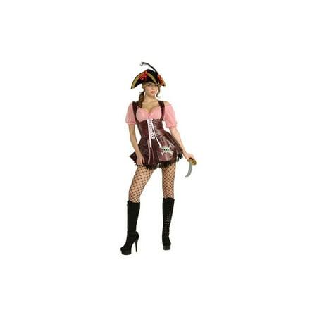 Sea Goddess Pirate Women Costume