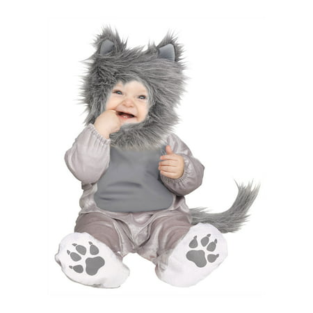 Halloween Costumes 50 Shades Of Grey (Little Gray Wolf Cub Toddler Infant Furry Puppy Halloween)