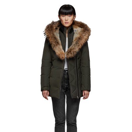 MACKAGE Women's AKIVA Hip length Down Parka Coat
