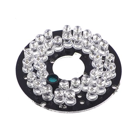 Unique Bargains Repair Part CCTV Camera 80 Degree 36 LED Bulb Lamp Infrared IR Board