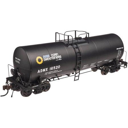 Atlas Ho Scale 17 600 G  Corn Syrup Tank Car Archer Daniels Midland Adm  17012