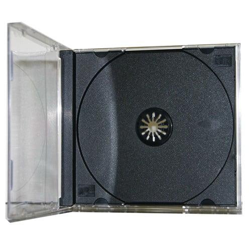CheckOutStore 100 STANDARD Black CD Jewel Case (Assembled)
