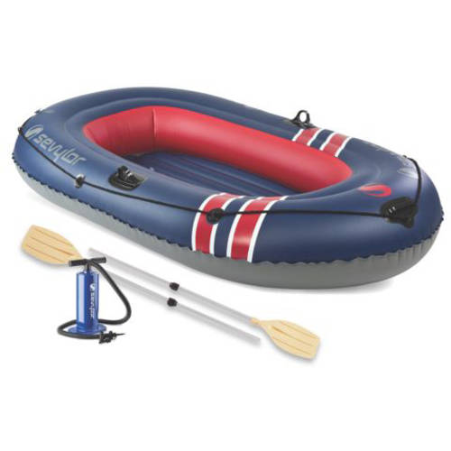 Sevylor 3-Person Caravelle Inflatable Boat Combo