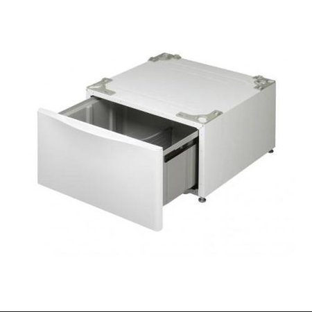 """LG 29 In. Laundry Pedestal with Drawer  White-Color:White,Size:27"""""""