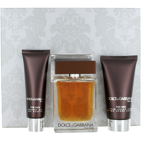 Dolce & Gabbana The One Cologne Gift Set for Men, 3 Pieces
