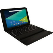 "Visual Land 10.1"" IPS Intel Quad Core [2-in-1] Tablet 16GB includes Docking Keyboard Case"