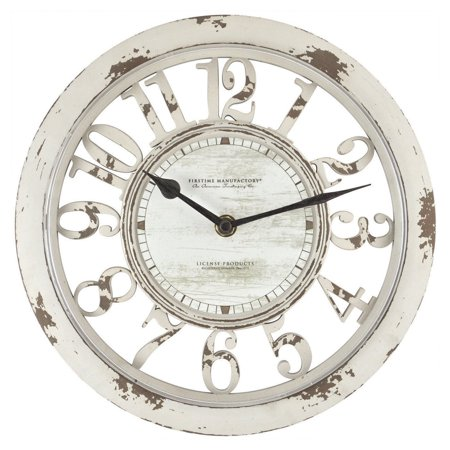 - FirsTime Antique Contour Wall Clock