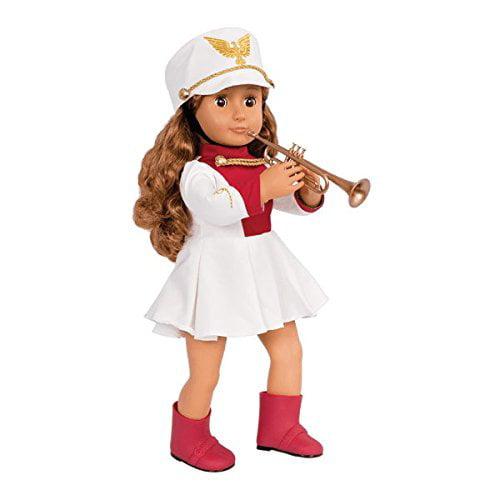 "18/"" Doll MUSIC INSTRUMENT SET School BAND Working KEYBOARD for American Girl Boy"