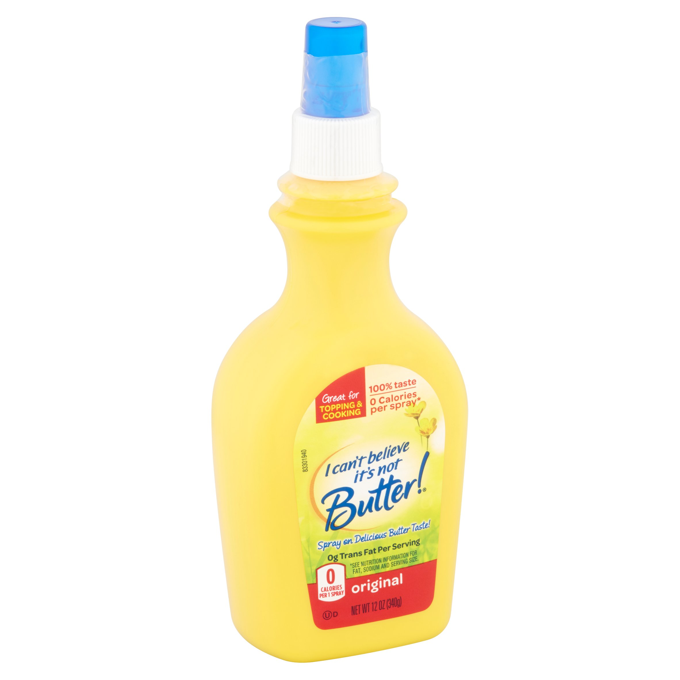 I Can t Believe It s Not Butter Original Cooking Spray 12 oz