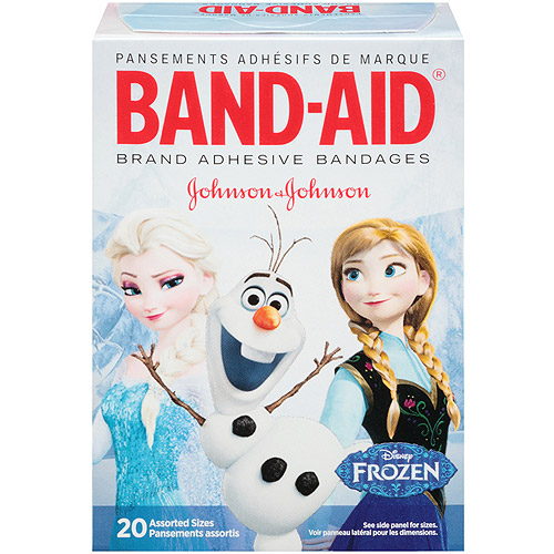 Band-Aid Brand Disney Frozen Assorted Adhesive Bandages, 20 count