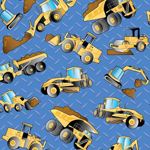 Cranston VIP Fabrics Heavy Equipment Dump Truck Toss Fabric