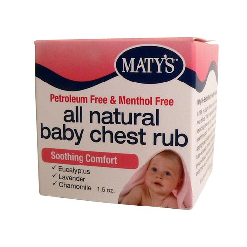Maty's All Natural Baby Chest Rub, 1.5 oz