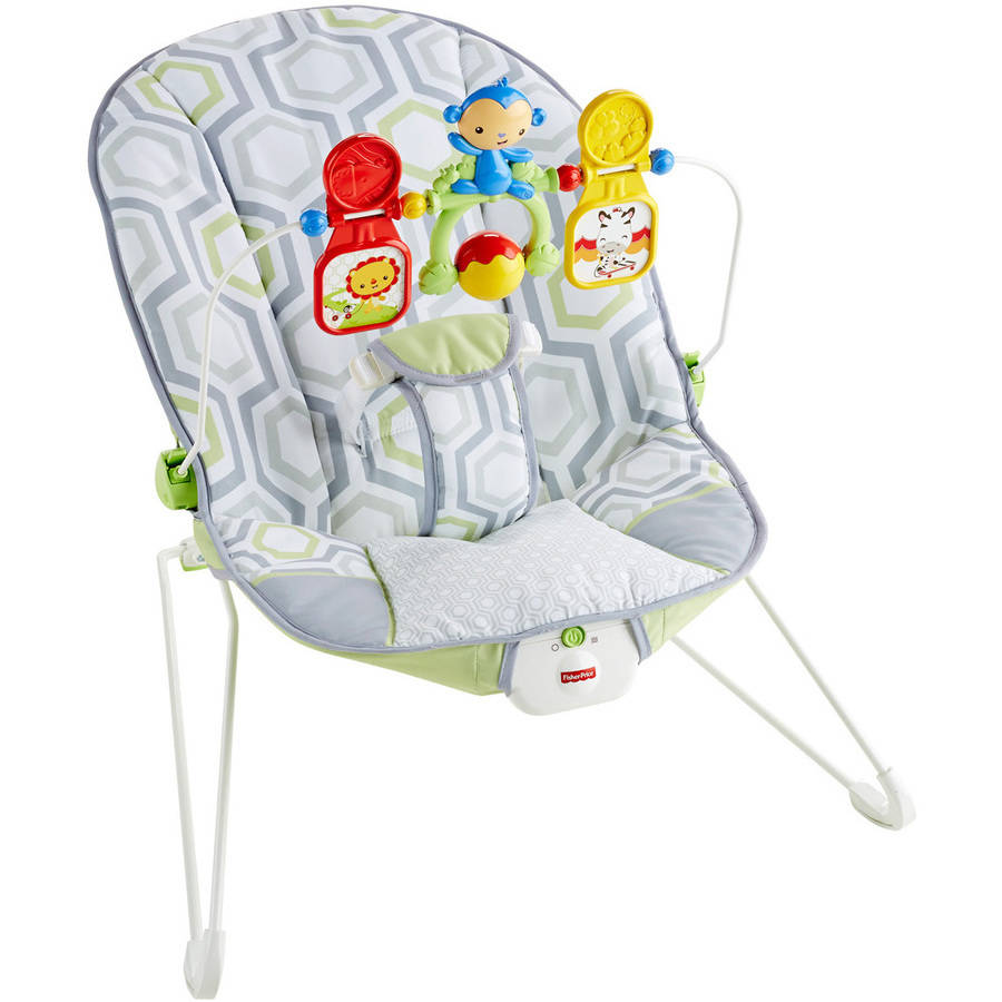 Fisher Price Baby's Bouncer Geo Meadow by Fisher-Price