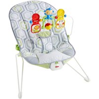 Fisher-Price Bouncer, Geo Meadow with Removable Toy Bar