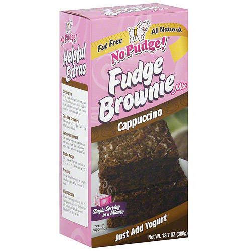 No Pudge Fudge Cappuccino Brownie Mix, 13.7 oz (Pack of 6)