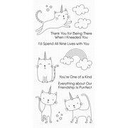 """My Favorite Things Clear Stamps 4""""X8""""-Caticorn"""