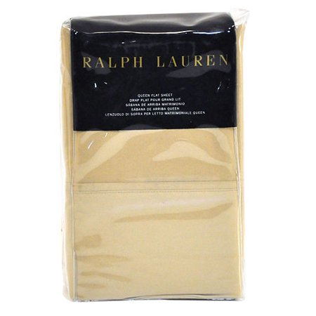 Ralph Lauren Flat Sheet - RL 464 Solid Percale (Ralph Lauren Bedding Queen)