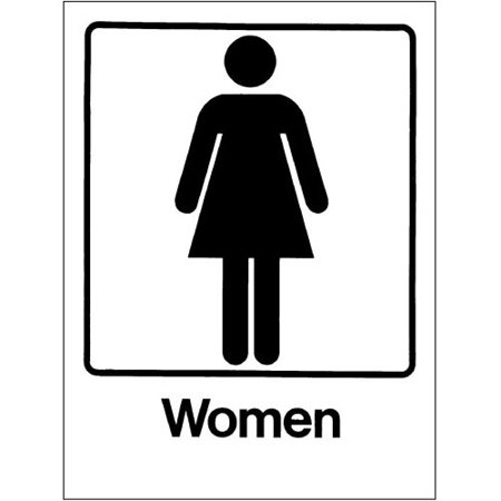 - Pool Sign, Women 9 in. x 12 in.