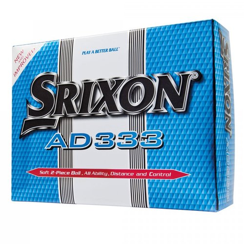 Srixon AD333 Golf Balls, 12-Pack