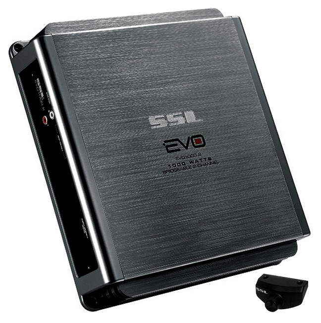 SSL EVO1000.2 EVO 1000W 2 Channel Full Range, Class A/B Amplifier