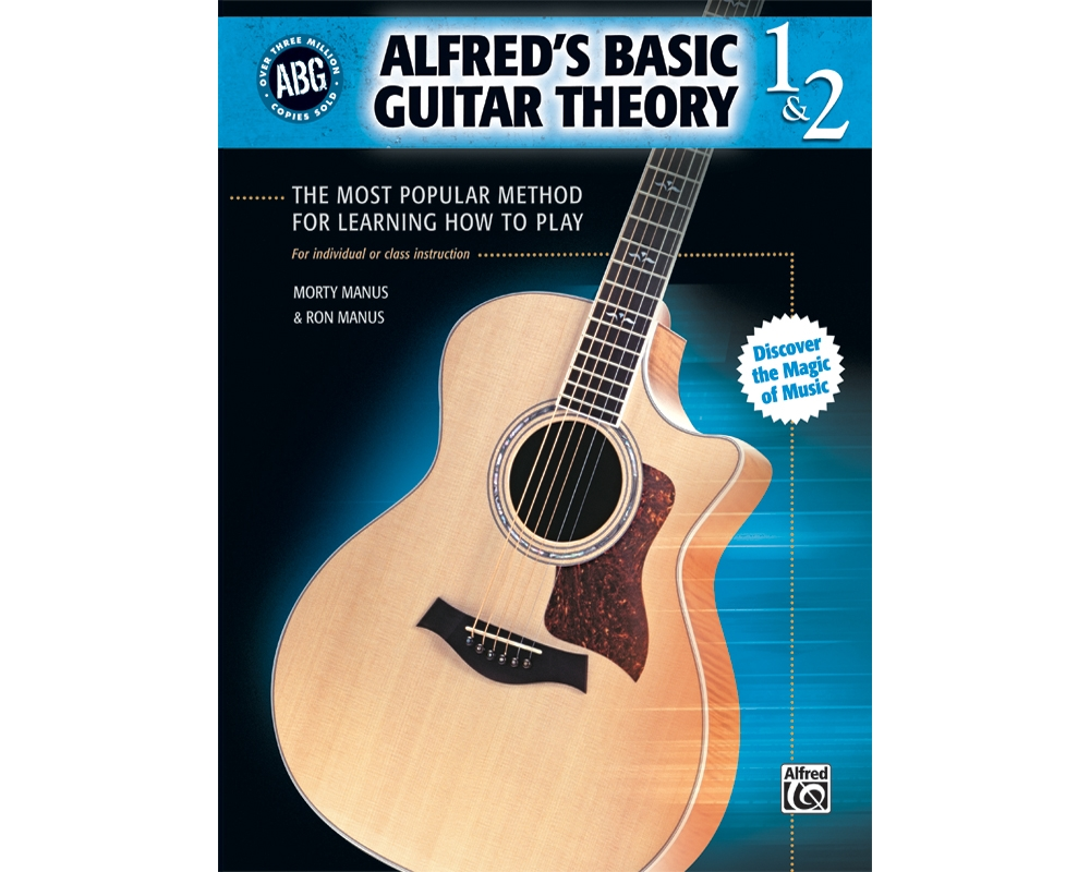 Alfred 00-28387 Basic Guitar Theory- Books 1 & 2 Music Book by Alfred Publishing