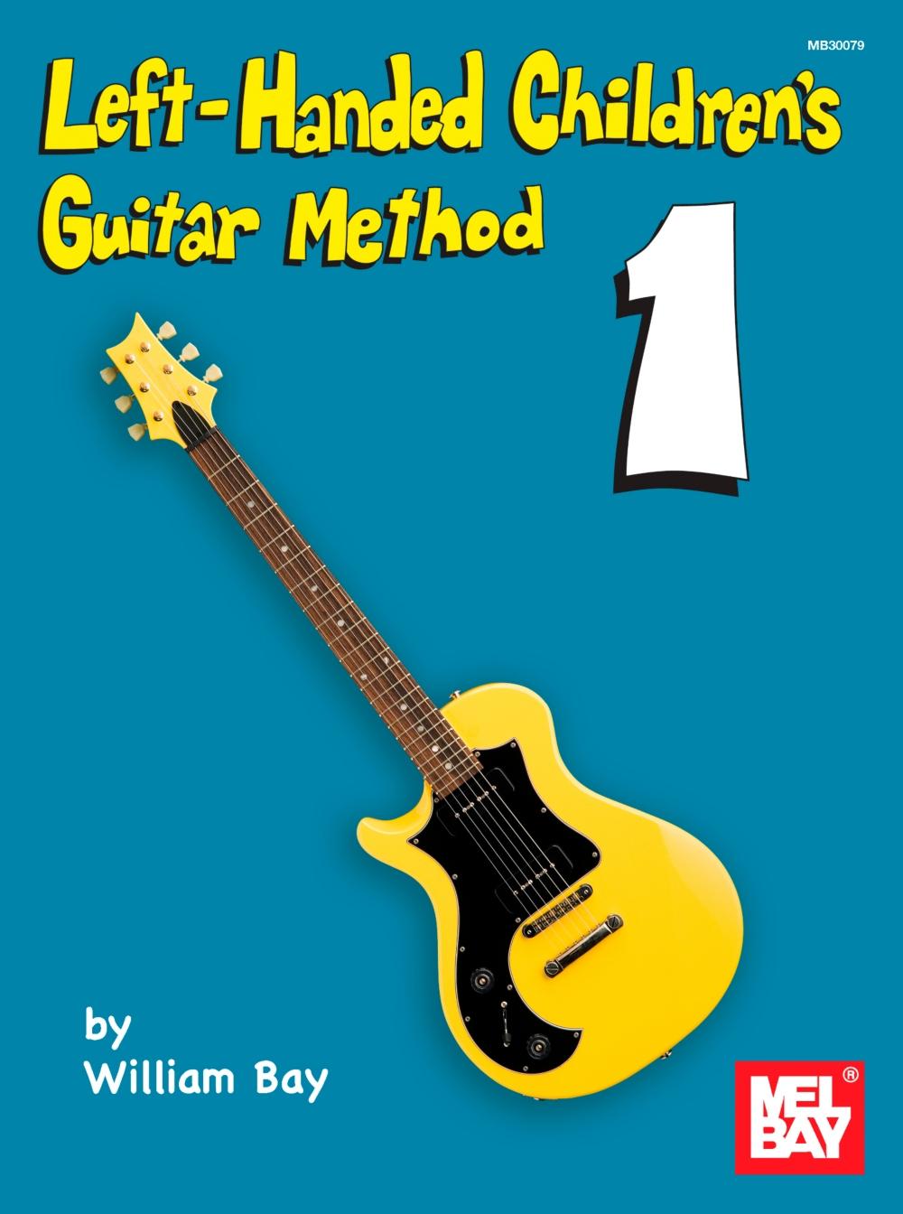 Mel Bay Left-Handed Children's Guitar Method by
