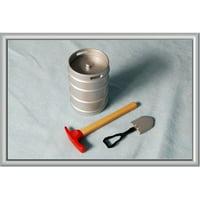 Hobby Gear 15104 Keg, Axe, Shovel Scale Accessories