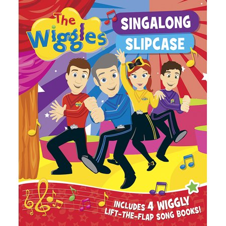 The Wiggles Halloween Songs (The Wiggles: Singalong Slipcase : Includes 4 Wiggly Lift-the-Flap Song)