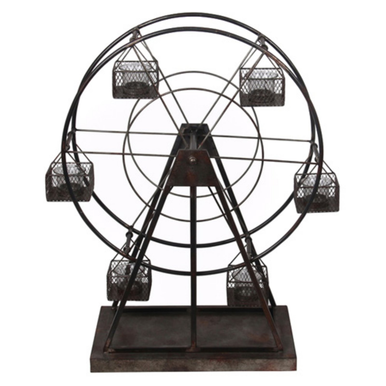 Privilege International Metal Windmill Candle Holder