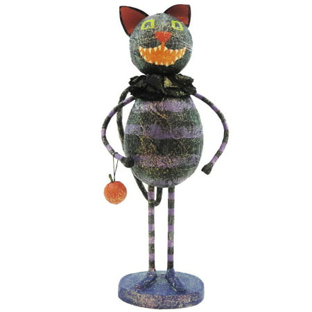 Halloween VINTAGE CAT Styrofoam, Mixed Media FHO282 - Halloween Mixed Media Art