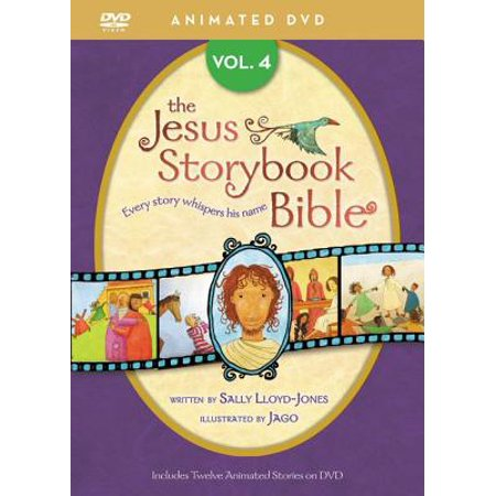 Jesus Storybook Bible Animated DVD, Vol. 4](Animated Halloween Stories Online)