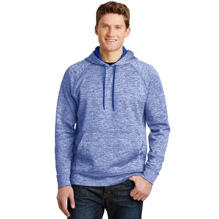 Sport-Tek® Posicharge® Electric Heather Fleece Hooded Pullover. St225 True Royal - image 1 of 1