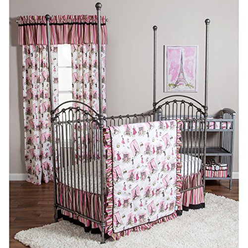Waverly Tres Chic 3 Piece Crib Bedding Set