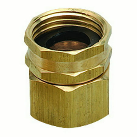 Orbit Brass Double Swivel Water Garden Hose to Hose Fitting Connecter Adapters