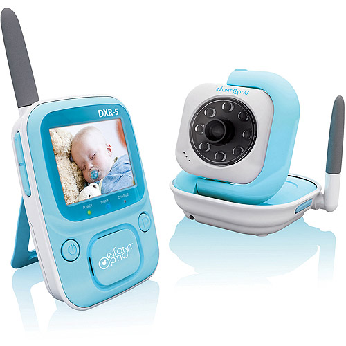 Infant Optics DXR-5 2.4GHz Digital Video Baby Monitor with Night Vision