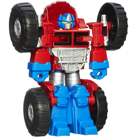 Playskool Heroes Transformers Rescue Bots Optimus Prime (Heroes Of The Storm Prime Evil Diablo)