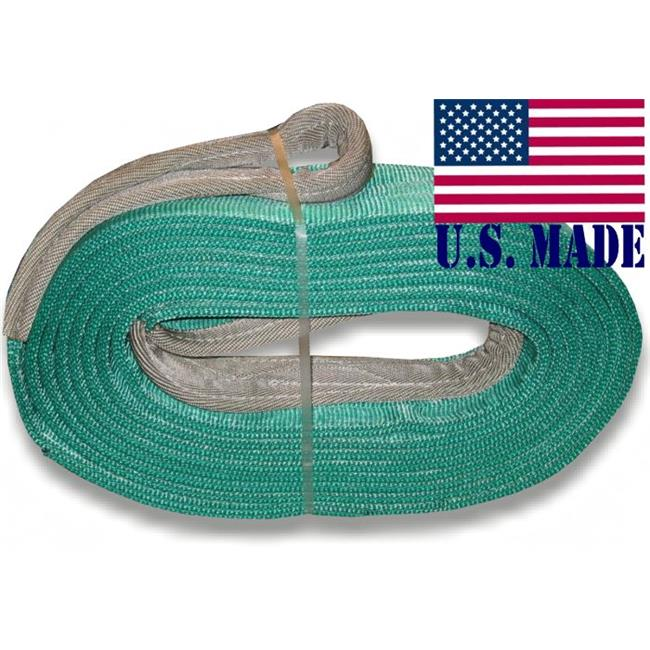 U.S. made MEGA RECOVERY STRAP 6 inch X 30 ft TWO-PLY (OFF-ROAD RECOVERY) - image 1 of 1