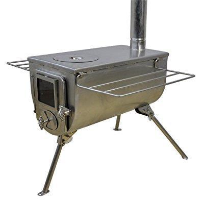 winnerwell woodlander cook wood tent stove