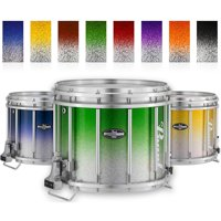 Pearl Championship CarbonCore Varsity FFX Marching Snare Drum Fade Top Finish 14 x 12 in. Blue Silver #962