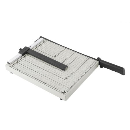 12 Inch Paper Trimmer Paper Cutter A4 B5 A5 B6 B7 Cut Length 12 Sheets Capacity Office School Home Supplies (B Stock Supply)