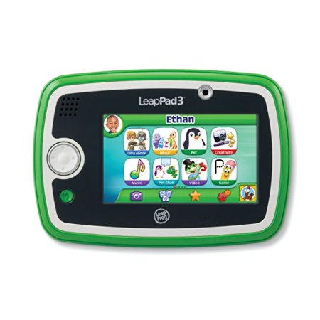 LeapFrog LeapPad3 Kids' Learning Tablet, Green (Leap Pad 3 Learning Tablet)