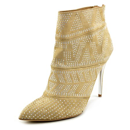Thalia Sodi Alejandra Pointed Toe Synthetic Ankle Boot